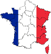 Flag Map of France nmarrigo wines icon