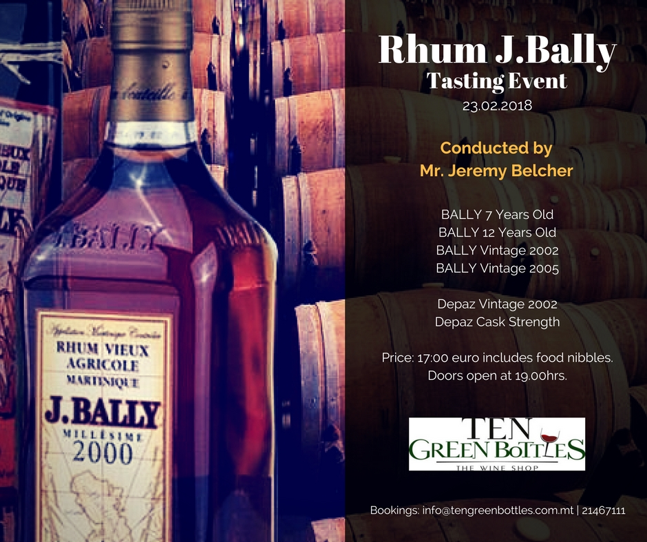 Rhum J.Bally Event - Official Poster