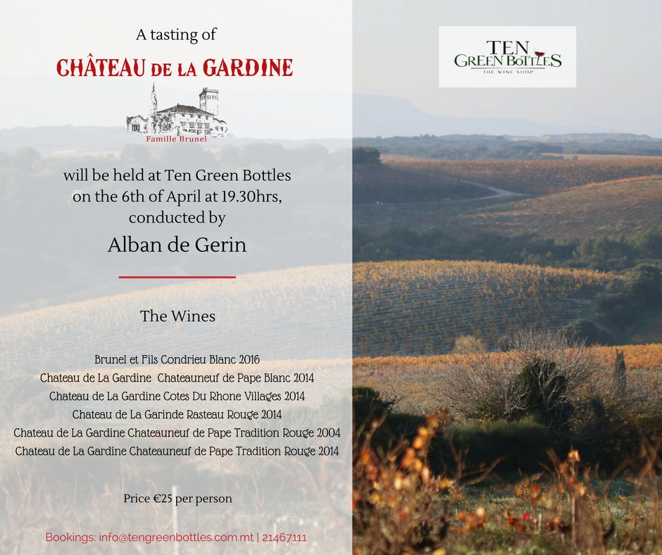 Château de la Gardine - Official Flyer