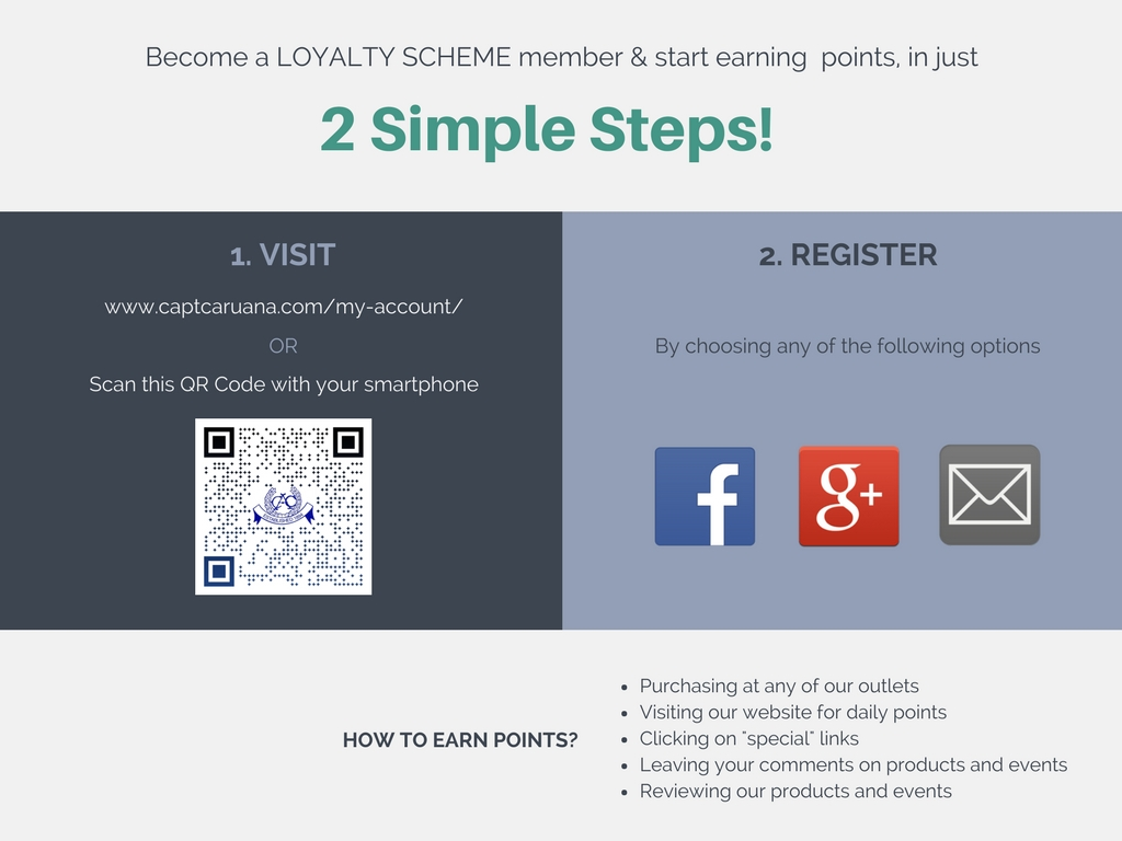 Loyalty Scheme Registration