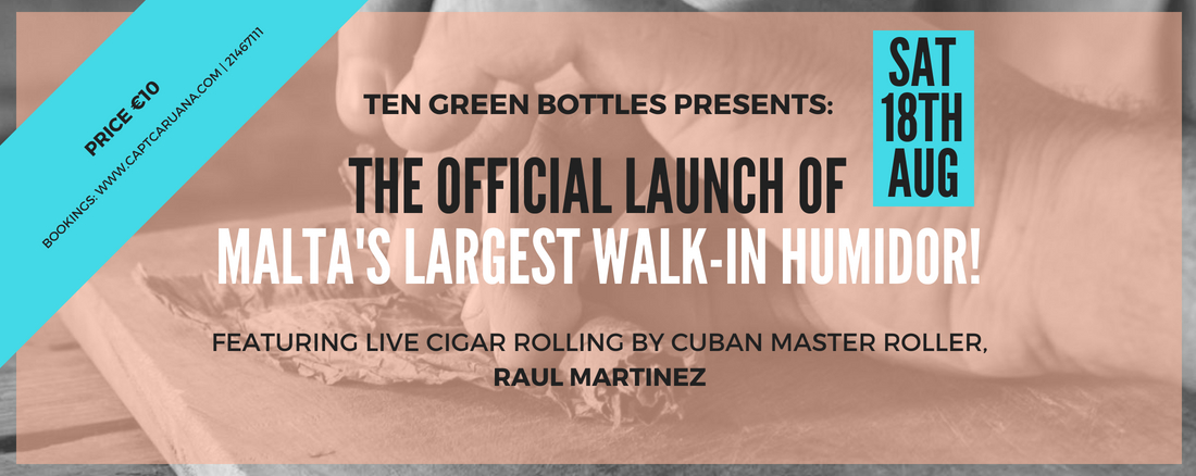 Largest walk in humidor &live cigar rolling