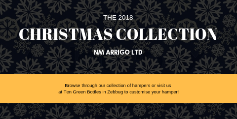 Christmas hampers 2018 ten green bottles