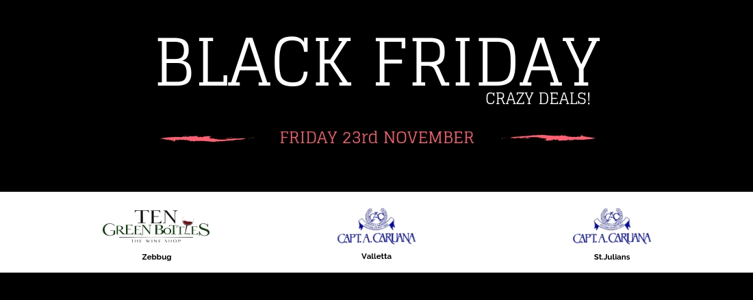 Black Friday sale Malta
