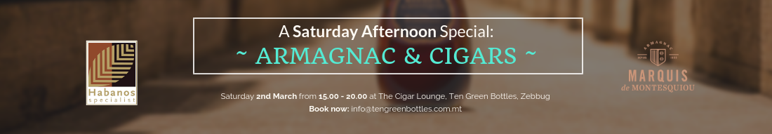 Armagnac @ Cigar Tasting 2nd March