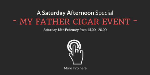 My father cigar event 16th February