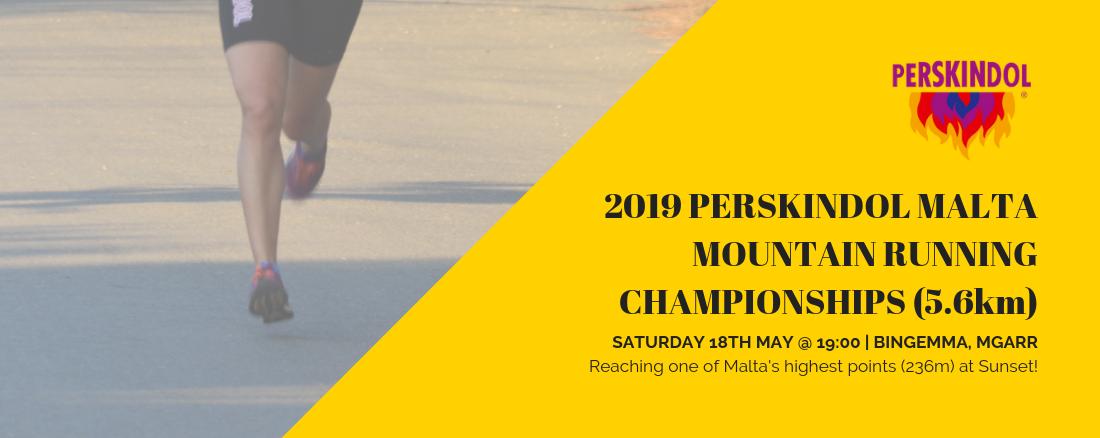 Perskindol Malta mountain championship 2019