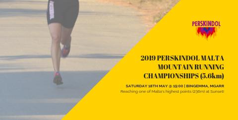 Perskindol Malta Mountain Championships 2019