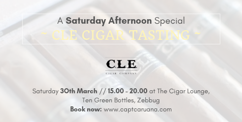 CLE cigar event 30th march