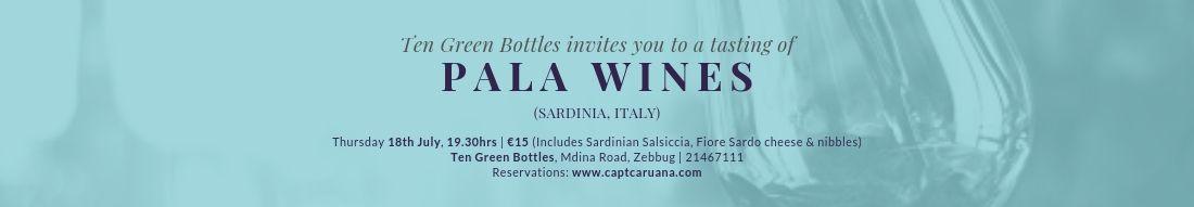 Pala Wine Event 18th July