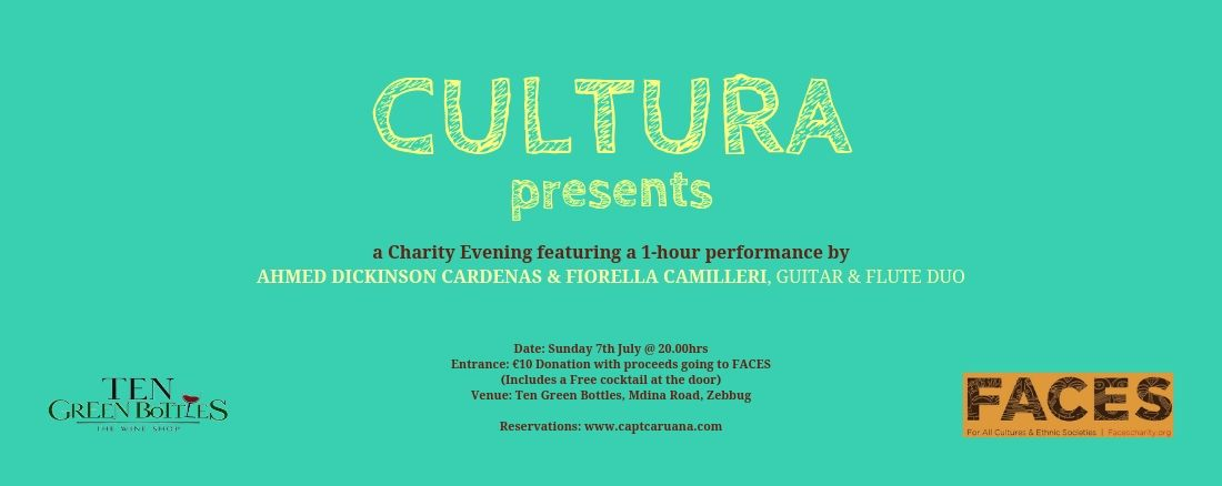 Cultura charity event in aid of faces