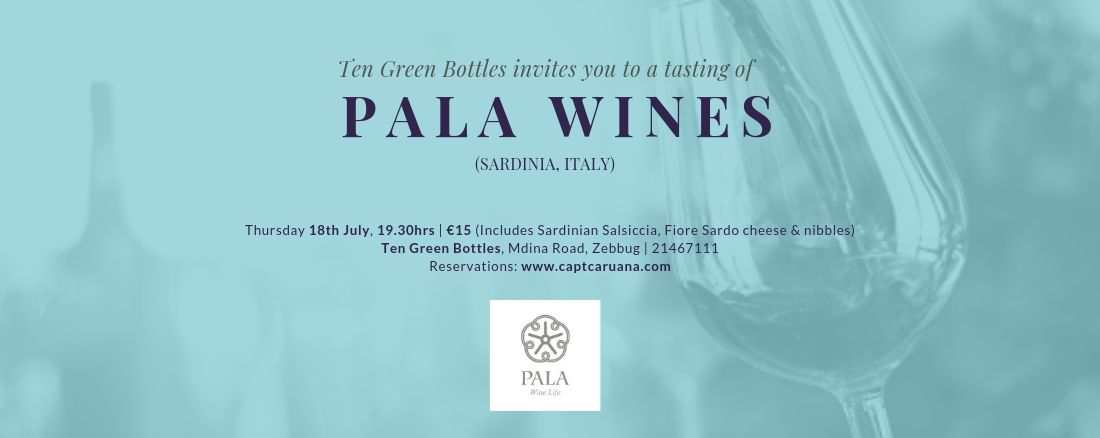 Pala Wine Event 18th July